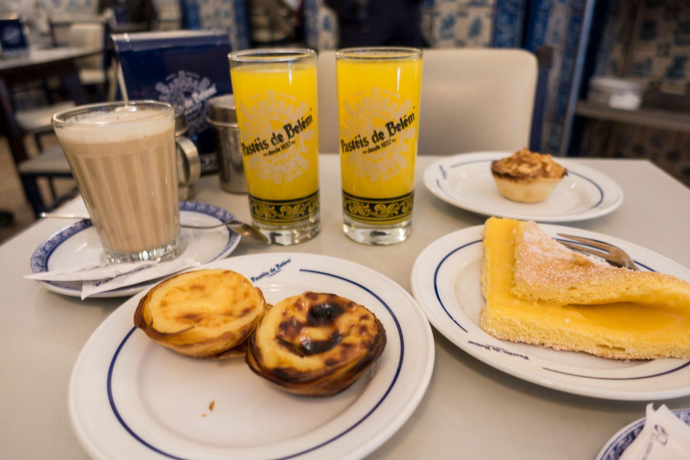 Shore leave Lisbon: Breakfast in Belem