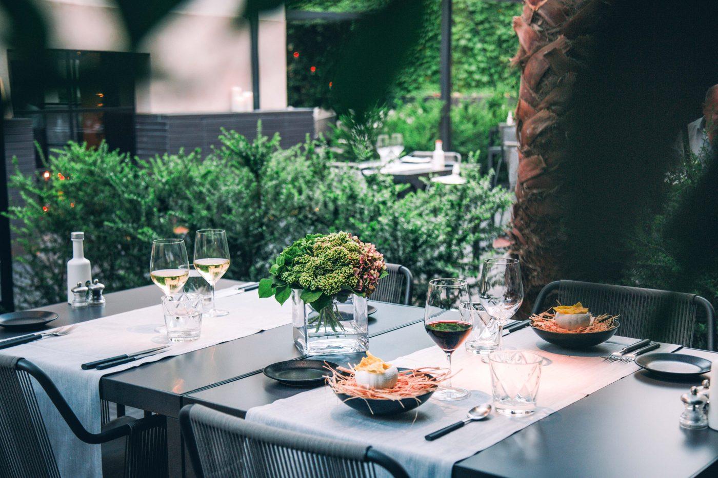 Landgang Palma de Mallorca: Lunch im Quadrat