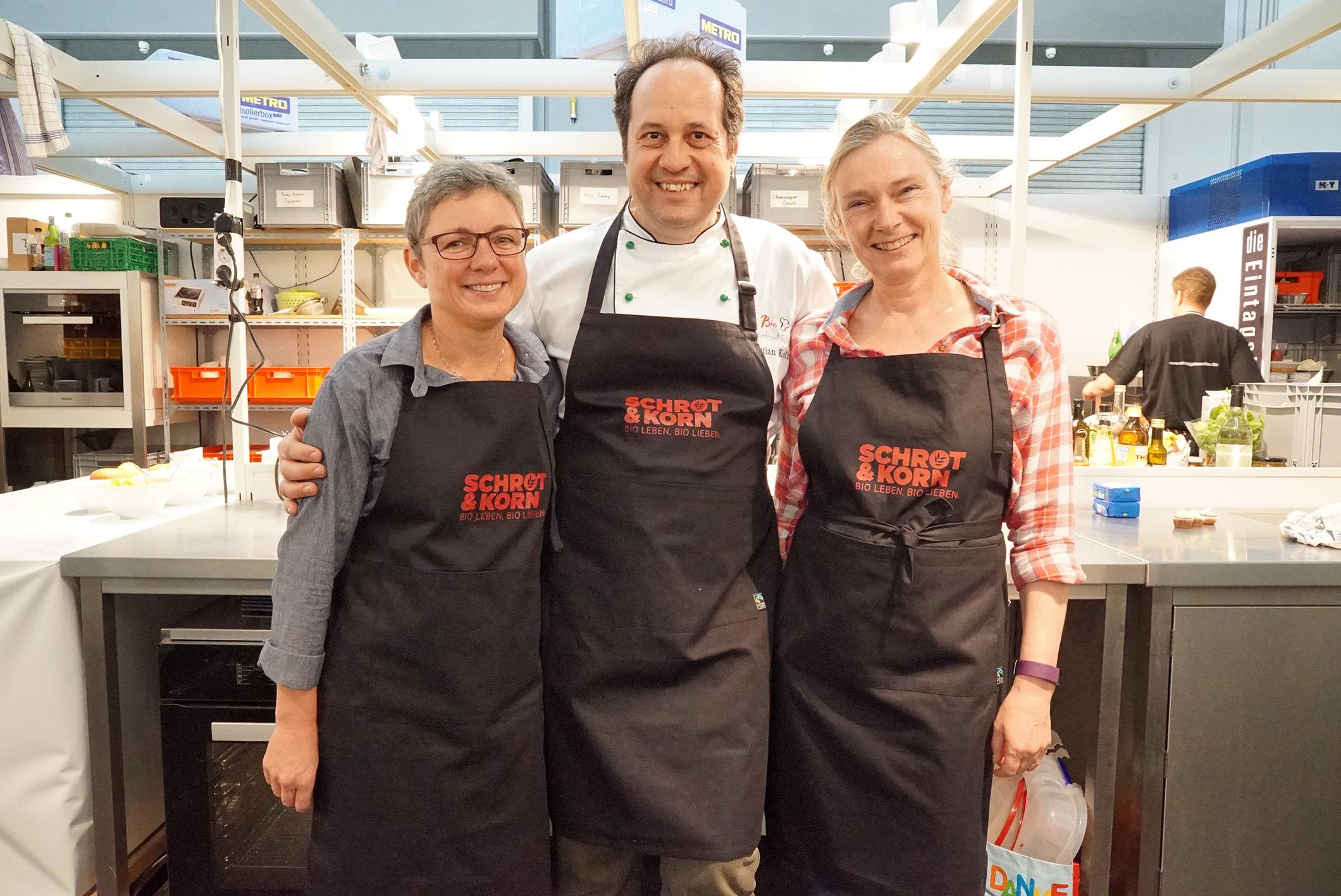Frankfurter Buchmesse: Captain's Dinner kocht auf der Bühne der Gourmet Gallery!