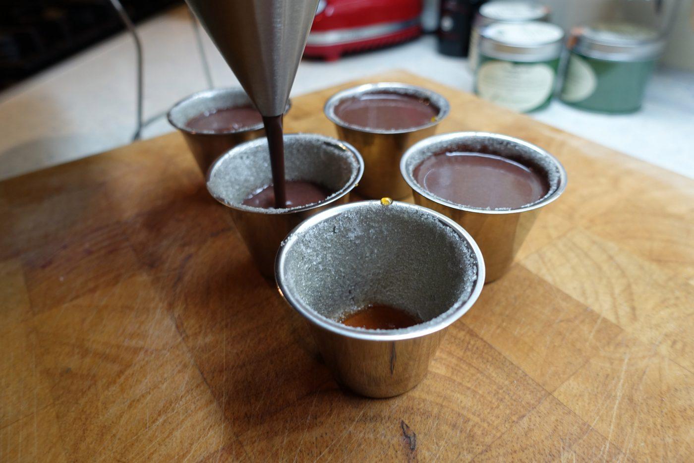 Piemontesischer Schokopudding mit Vanillequitten