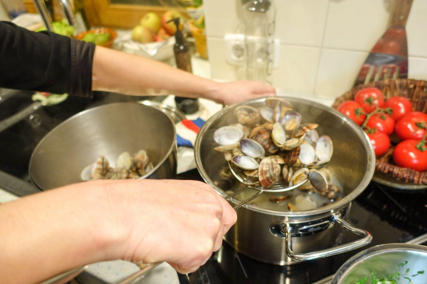 Cavatelli alle Vongole – Pasta mit Venusmuscheln