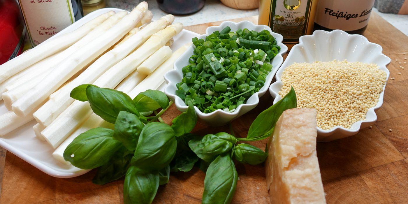 Finally asparagus again!