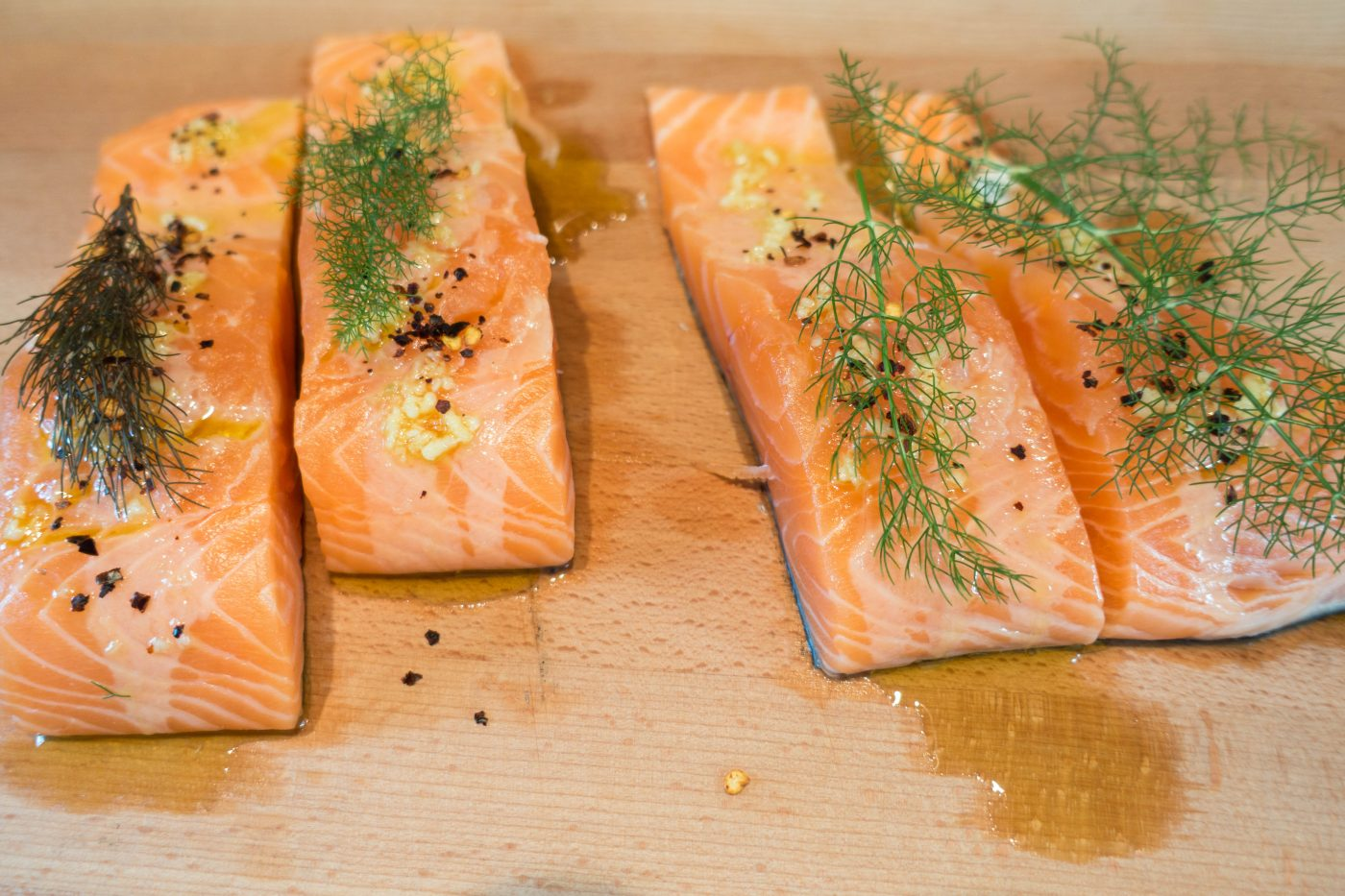 BBQ mal anders: Heiss geräucherter Lachs