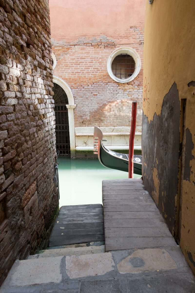Landgang Venedig