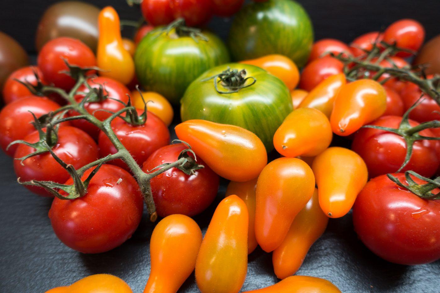 Käsewaffeln mit Tomatensauce