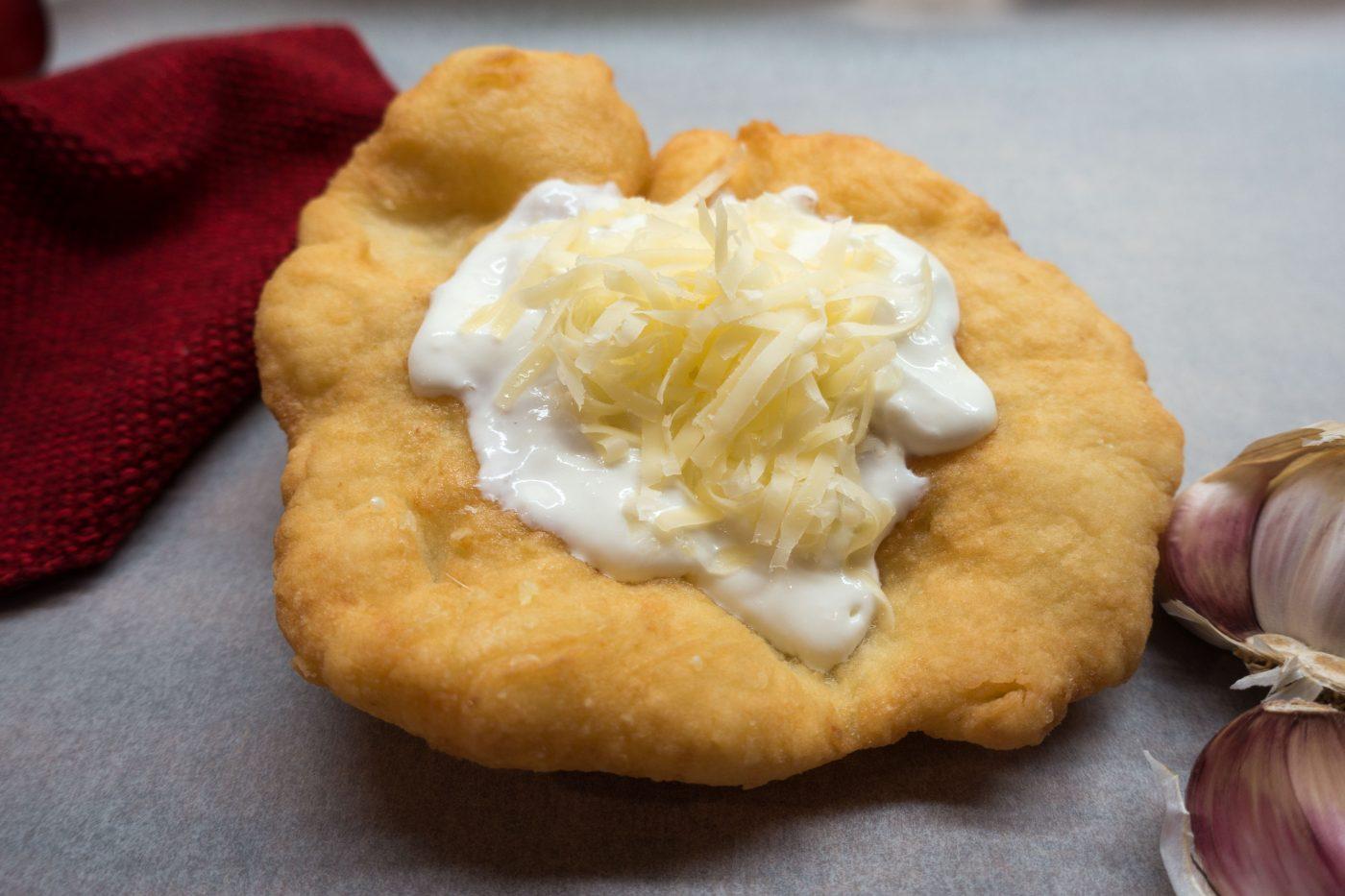 Langos – ein ungarischer Snack