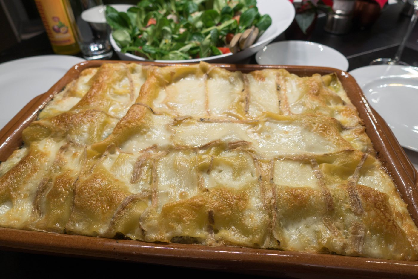 Lasagne vom Reh