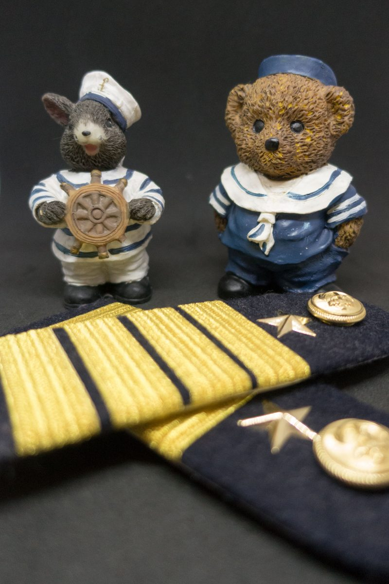 Sea service fitness, the teddy collection at seaman's outpatient clinic in Hamburg