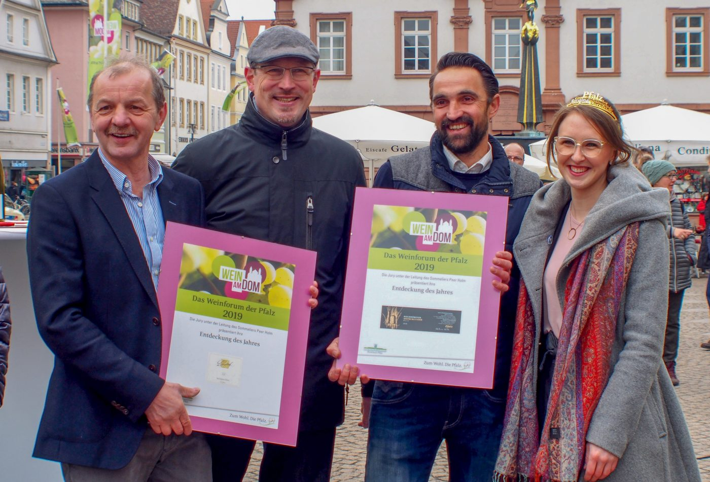 "Wine fair ""Wein am Dom"" winners of ""Discovery of the Year"" award"
