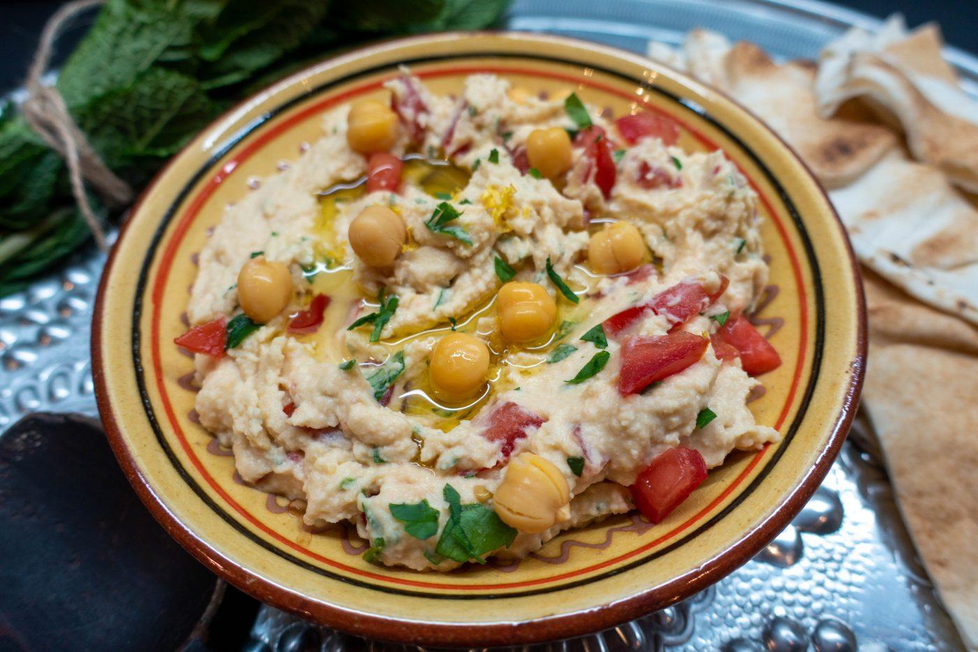 Hummus mit Joghurt