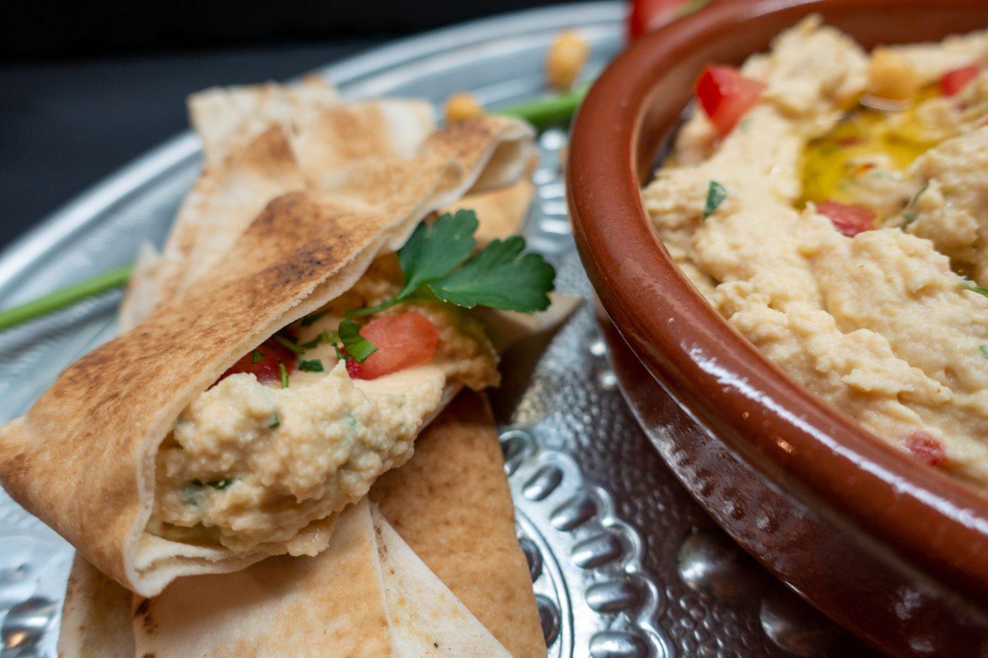 Hummus mit Joghurt – homemade!
