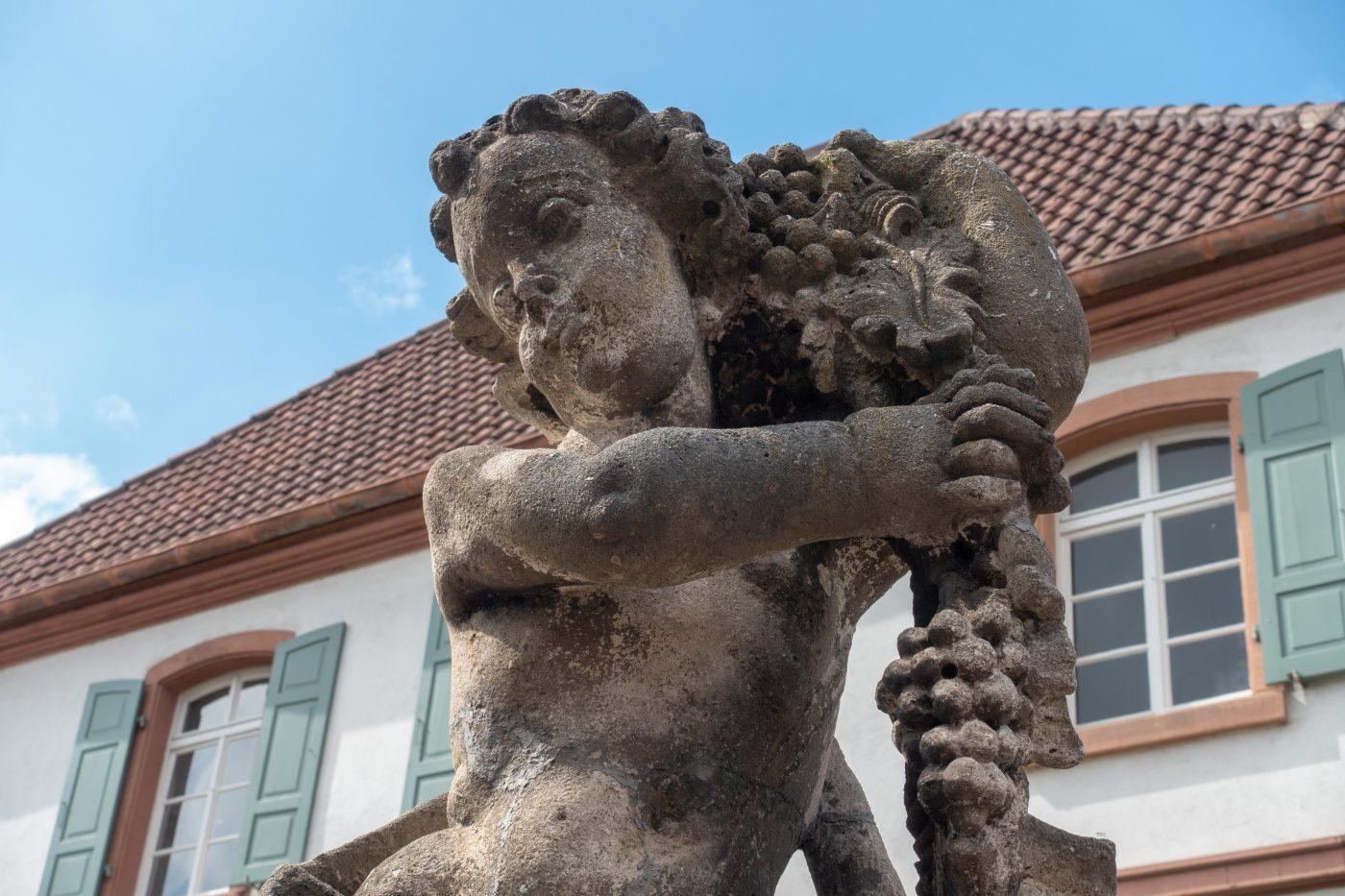 Skulptur in Wachenheim, Pfalz